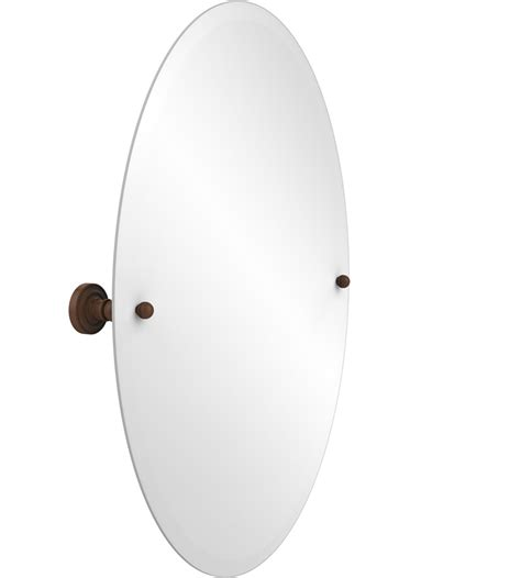 oval bathroom wall mirrors dottingham oval bath wall mirror in vanity mirrors