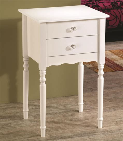 small white end table small end table with drawer homesfeed