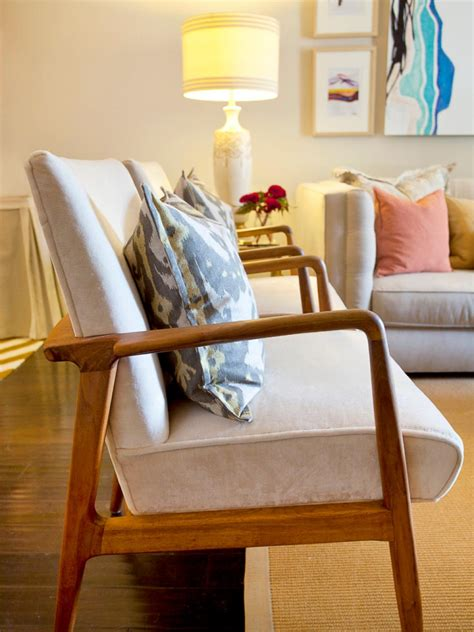 show me some new modern patterns for furniture upholstery add midcentury modern style to your home hgtv