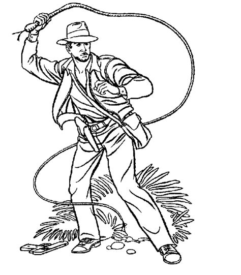 indiana jones coloring pages coloringpagesabc com