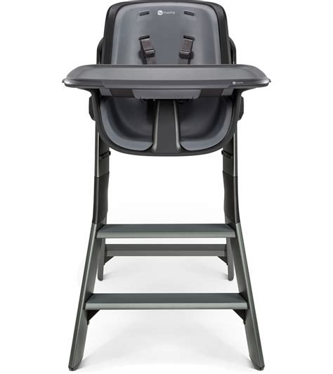 Black High Chair by 4moms High Chair Black Grey