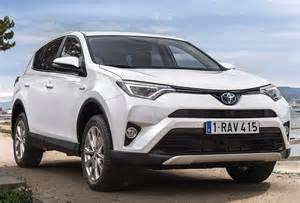Toyota 2016 Suv 2016 Toyota Rav4 Hybrid One Limited Edition Marks European