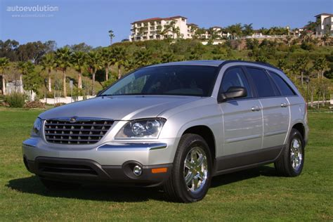 Pacifica Chrysler 2004 by Chrysler Pacifica Specs 2003 2004 2005 2006
