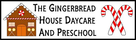 gingerbread house daycare welcome to the gingerbreadhouse daycare and preschool