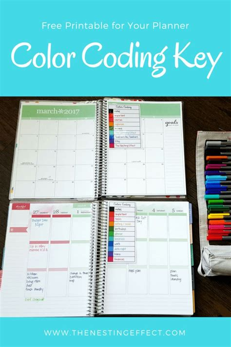 color coding planner best 25 color coding planner ideas on college