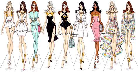 design clothes in illustrator hayden williams fashion illustrations september 2012