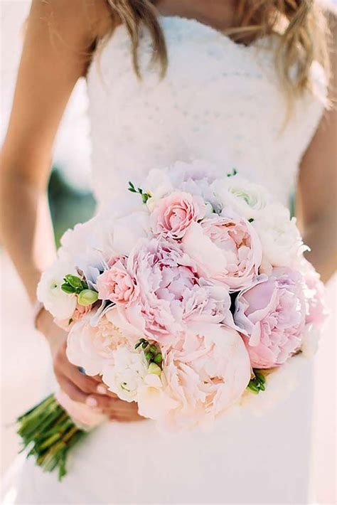 Pink Flowers Wedding by 25 Best Ideas About Peonies Wedding Bouquets On