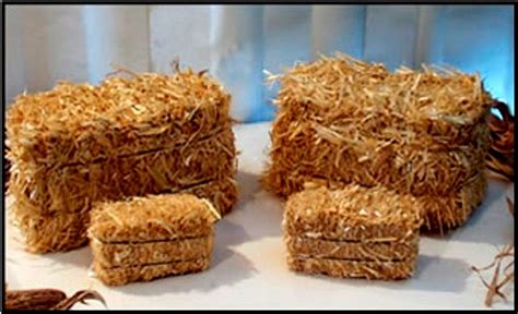 Decorative Hay Bales by Half The Size The Price Dan Miller S