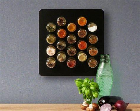 diy magnetic spice kit  small empty hexagon glass jars