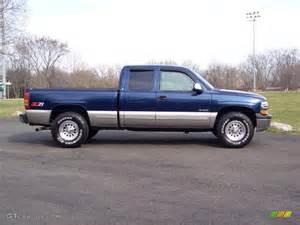 indigo blue metallic 1999 chevrolet silverado 1500 ls z71