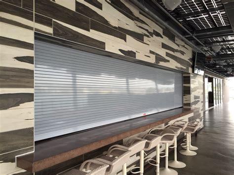 restaurant garage doors