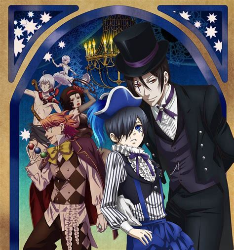 theme line black butler new black butler book of circus visual opening ending