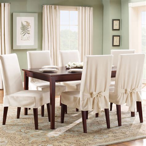 White Slipcover Dining Chair Dining Chairs Interesting White Dining Chair Slipcover Kitchen Chair Seat Covers Dining Chair