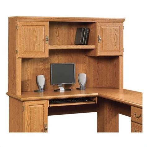 Sauder Corner Computer Desk With Hutch Error