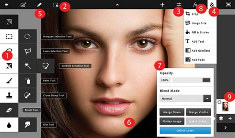 tutorial photoshop touch how to get around the photoshop touch interface advanced