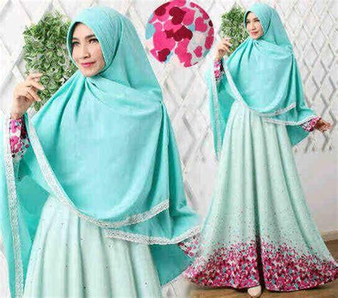 Harga Kaos Versace gamis syar i modern b039 versace baju muslim terbaru