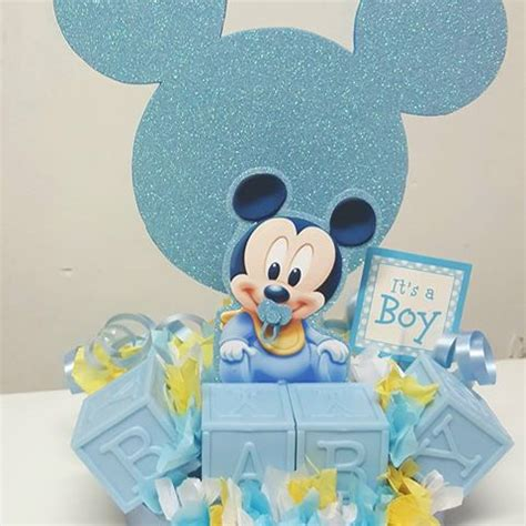 Mickey Mouse Baby Shower Themes by Manificent Design Baby Mickey Shower Decorations