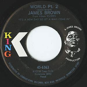 King 52 Freesul brown world pt 2 i cried 7inch king usオリジナル盤 ex