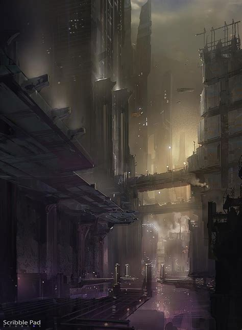 cyberpunk city concept environment sci fi concept art 154 best sci fi reference images on pinterest concept