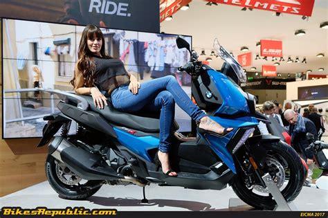 Motorrad Bmw 400 by Bmw Motorrad Launches 2018 Bmw C 400 X Scooter