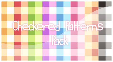 adobe illustrator checkered pattern ps checkered patterns pack by pluvias on deviantart