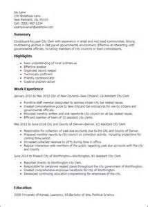 cover letter for city professional city clerk templates to showcase your talent