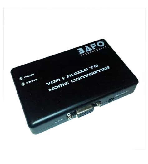 Bafo Mini Hdmi To Vga Bf 2621 bafo bf h101 vga audio to hdmi converter
