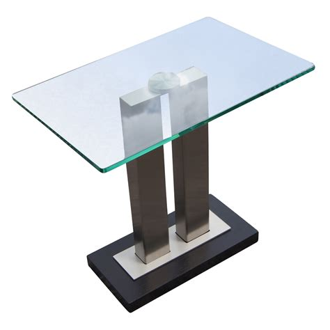 metal and glass contemporary glass and metal side table mr12717 80 off