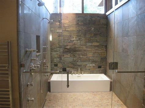walk in showers designs bathroom contemporary with rock wall design for contemporary bathroom ideas with
