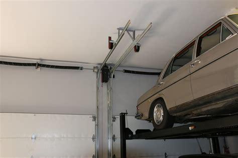 Auto Lift Garage Doors high lifted wood free overhead garage doors with car lift