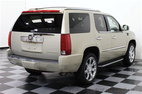 Certified Cadillac Escalade by 2008 Used Cadillac Escalade Certified Escalade Awd 7