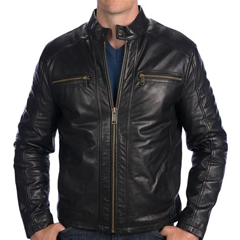 leather moto jacket marc new york by andrew marc laser moto leather jacket for save 49