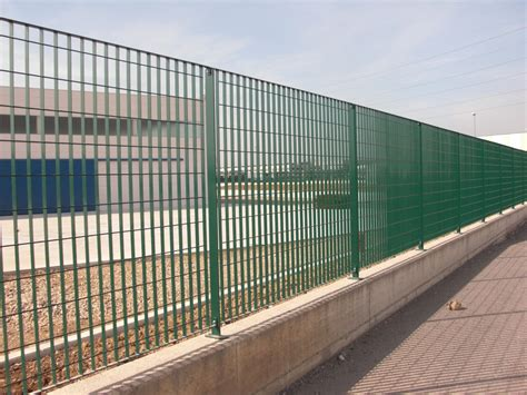 prefab fence sections modular steel fence multisar 2 3 4 by grigliati baldassar