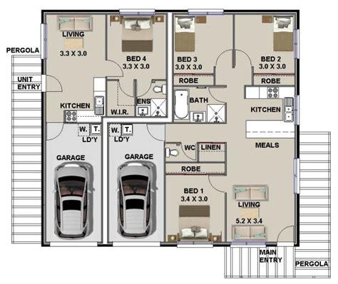 dual living floor plans dual key floor plans australian dual key home plans