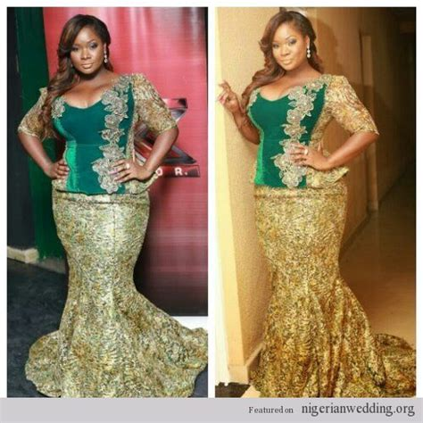 green lace nigerian women designs for weddings nigerian wedding velvet and lace aso ebi styles things