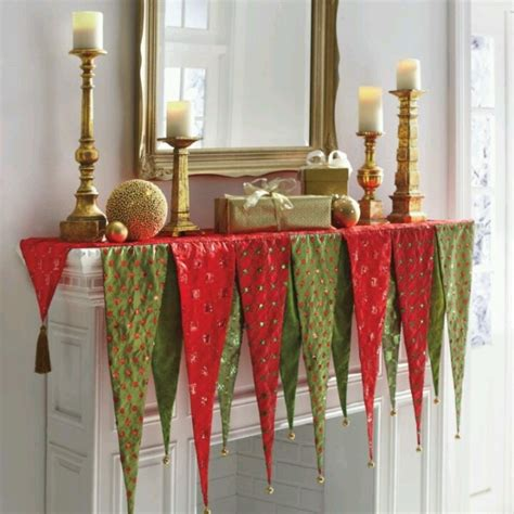 pattern for christmas mantel scarf christmas mantle scarf christmas pinterest