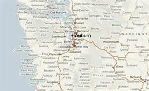 Auburn Washington Map by Auburn Washington
