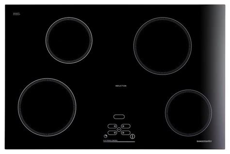 induction cooking rings rangemaster ri77 4 ring built in induction hob in black contemporary hobs other metro by
