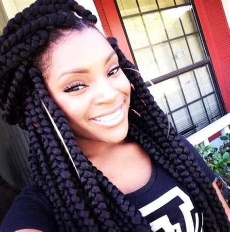 cute hairstyles for jumbo box braids braided hairstyles for black women super cute black