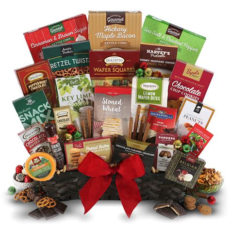 idea christmas basket corporate the corporate show stopper gift basket by gourmetgiftbaskets