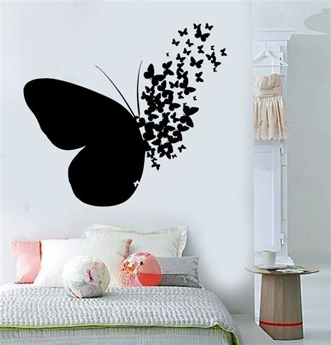 butterfly home decor vinyl wall decal butterfly home room decoration mural