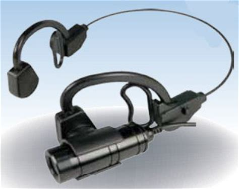 high resolution tatical headset camera with microphone