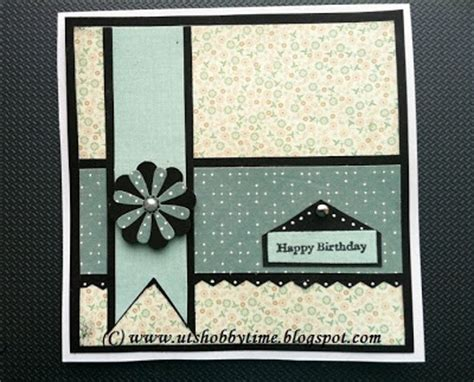 Card Closet by Uts Hobby Time Handmade Greeting Card For Birthday
