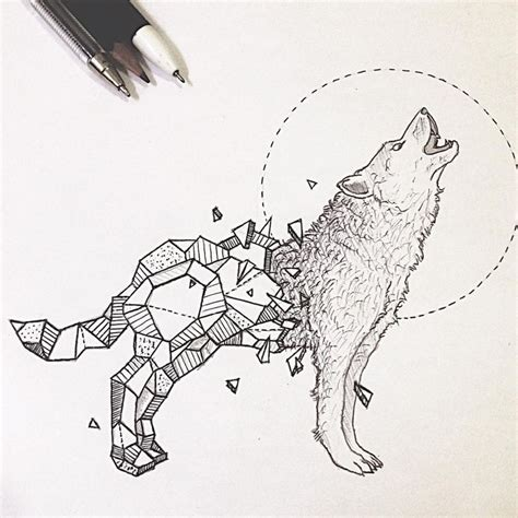 geometric tattoo manila resultado de imagen de geometric wolf great tattoos