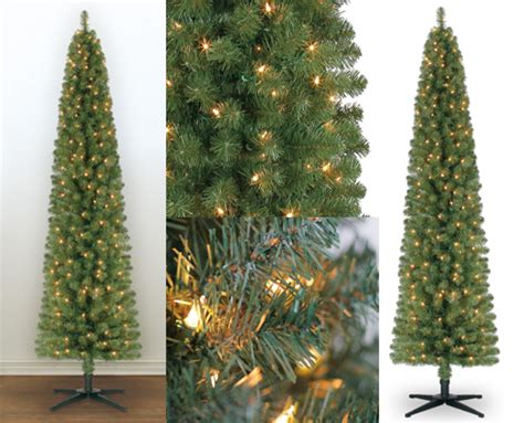 39 99 reg 100 7ft pre lit pencil christmas tree free