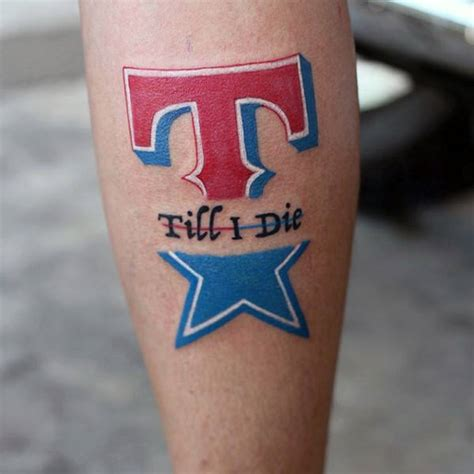 texas rangers tattoo 70 tattoos for lone state design ideas