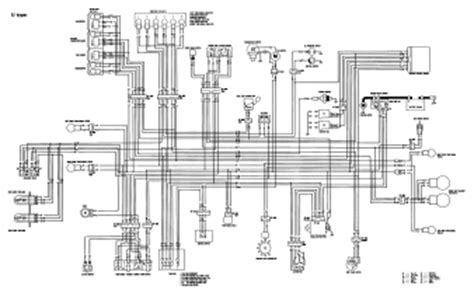 1992 honda cbr1000f wiring diagram and electrical system