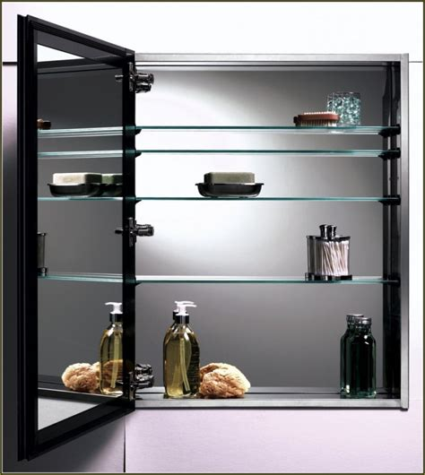 replace medicine cabinet with shelves medicine cabinet replacement shelves glass home design ideas