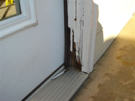Exterior Door Jamb Repair Fjc Remodeling Repairing Rotted Entry Doors On Your Home