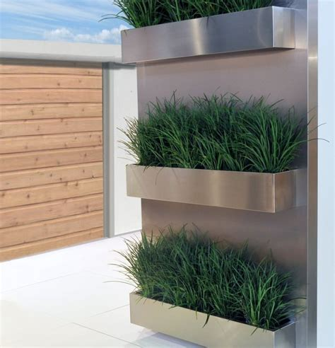 27 best stainless planters images on pinterest herb